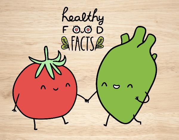 Dibujo de comida kawaii pintado por en Dibujosnet el da