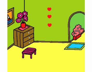 Dibujo de Casa por dentro pintado por en Dibujos net el día 21 10 17 a las 22:48:11 Imprime pinta o colorea tus propios dibujos!