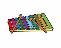 Dibujos Para Colorear De Un Xilofono Dibujos Para Colorear Xilofono