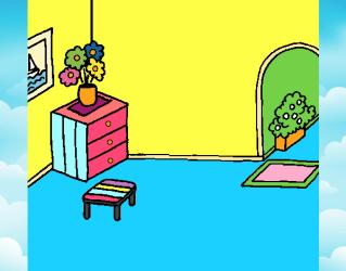 Dibujo de Casa por dentro pintado por en Dibujos net el día 07 11 18 a las 13:11:19 Imprime pinta o colorea tus propios dibujos!