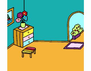 Dibujo de Casa por dentro pintado por en Dibujos net el día 14 11 18 a las 21:07:43 Imprime pinta o colorea tus propios dibujos!