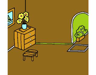 Dibujo de Casa por dentro pintado por en Dibujos net el día 30 11 18 a las 00:08:20 Imprime pinta o colorea tus propios dibujos!