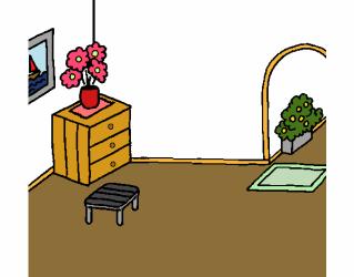 Dibujo de Casa por dentro pintado por en Dibujos net el día 17 10 19 a las 11:14:04 Imprime pinta o colorea tus propios dibujos!