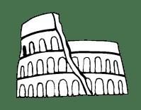 Dibujo de Anfiteatro romano para Colorear - Dibujos.net