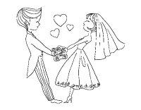 Dibujo de Casados y enamorados para Colorear - Dibujos.net