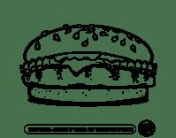 Dibujo de Crea tu hamburguesa para Colorear - Dibujos.net