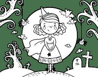 Dibujo de Da de Halloween para Colorear - Dibujos.net