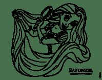 Dibujo de Enredados - Rapunzel peinndose para Colorear ...
