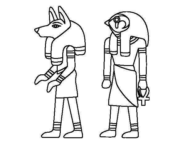 Egizi Da Colorare