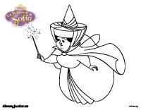 Dibujo de La Princesa Sofia - Hada madrina Primavera para ...