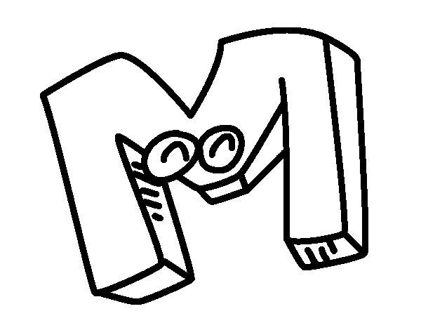 La Letra M