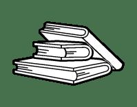 Dibujo de Libros de lectura para Colorear - Dibujos.net