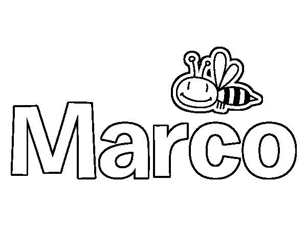 Dibujo de Marco para Colorear  Dibujosnet