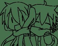 Miku Para Colorear Dibujo De Miku Con Gatitos Para Colorear