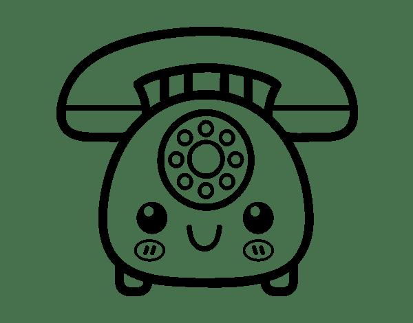 Phone Handset Del Schaltplan