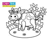 Dibujo de Vaquita Color Roll para Colorear - Dibujos.net