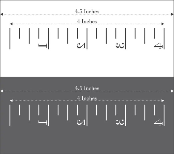 Design Ruler With Exact Dimensions Freelancer