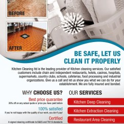 Industrial Kitchen Cleaning Services Tall Bags Size Entry 11 By Izabela1 For Design A Flyer Contest Company