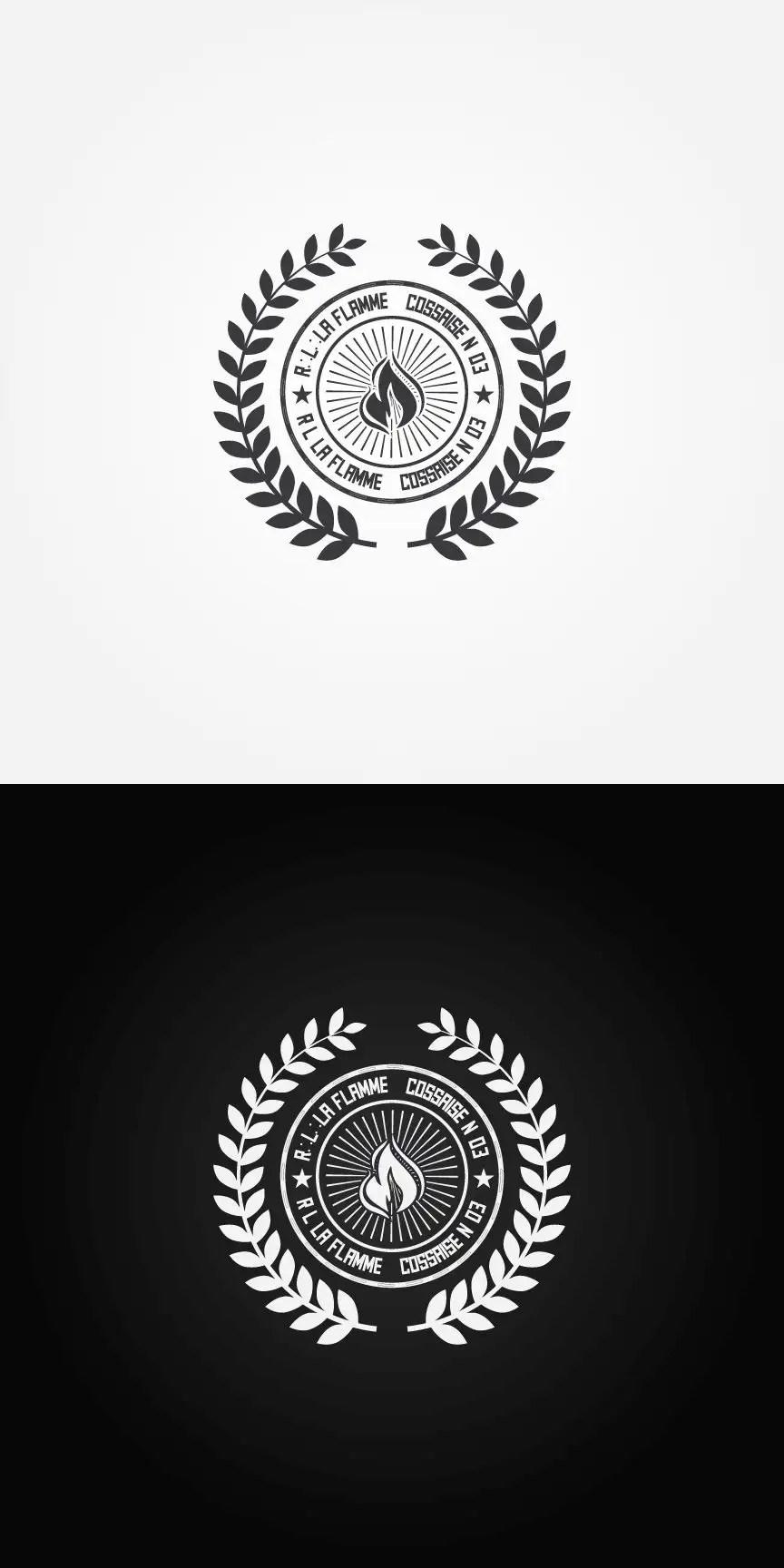 Logo Nu Hitam Putih : hitam, putih, Entry, Anikgd, Create, Masonic, Lodge, Freelancer