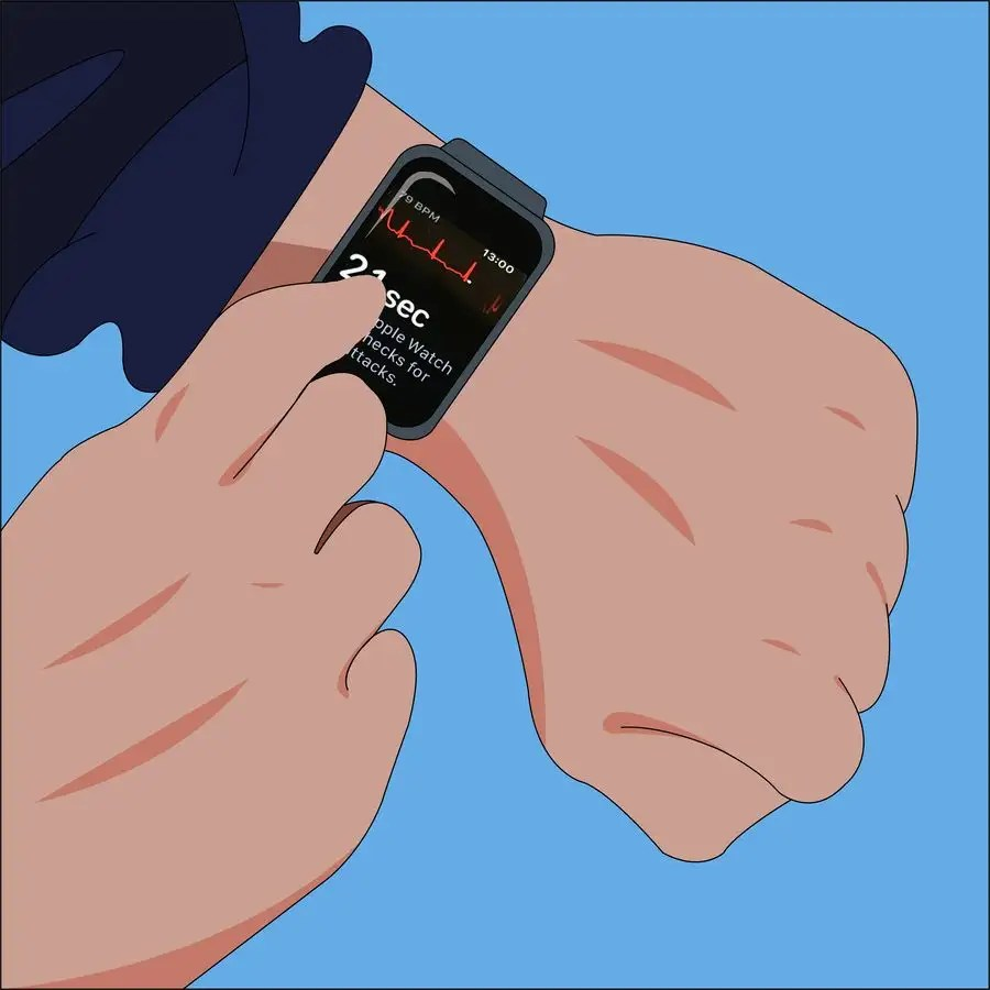 medium resolution of contest entry 5 for create a diagram figure of apple watch and person testing