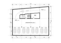 Underground parking garage design on a small plot | Freelancer