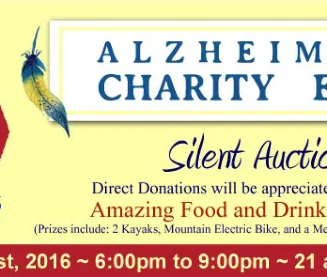 Contest Entry  For Design Event Flyer For Alzheimers Charity Event