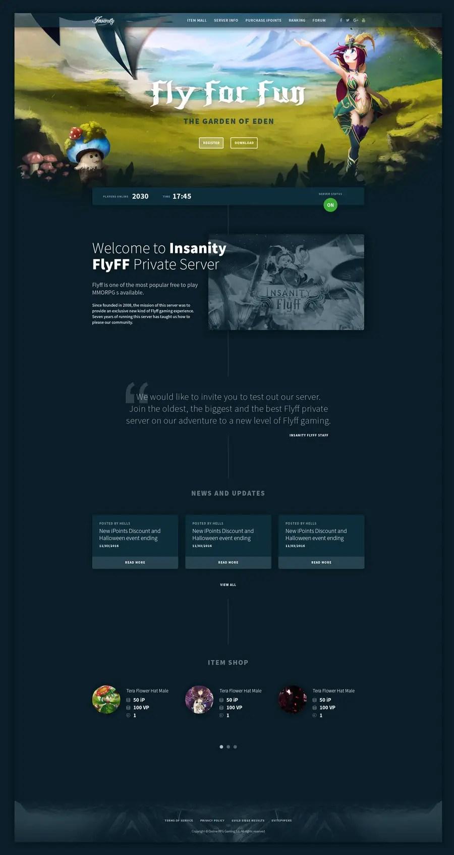 Flyff Private Server : flyff, private, server, Entry, Bgrgosic, MMORPG, Private, Server, Design, Freelancer