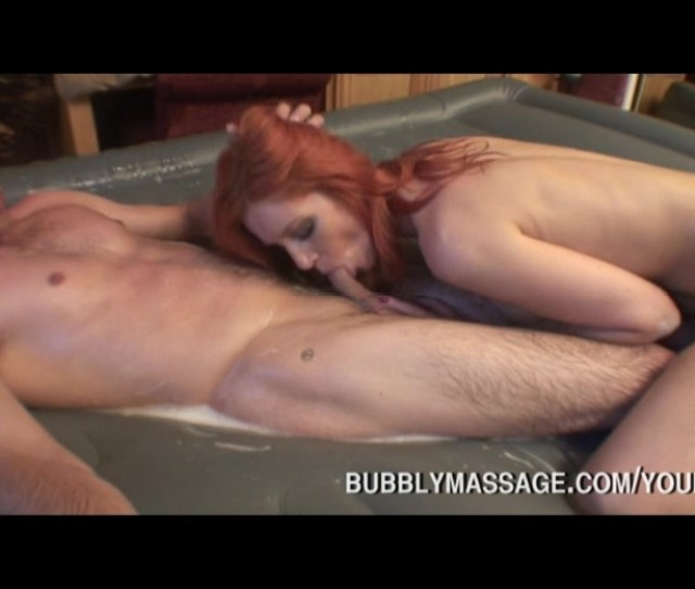 Beautiful Pornstar Gives A Bubbly Soap Massage To Her Guy