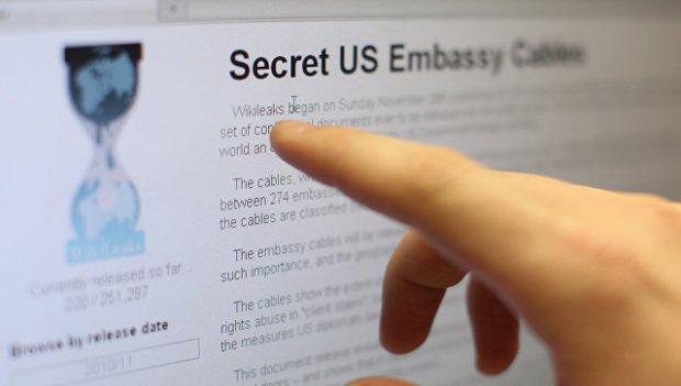 Сайт WikiLeaks. Архивное