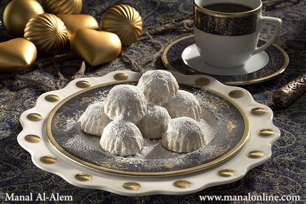 طريقة عمل كعك العيد بالعجوة منال العالم