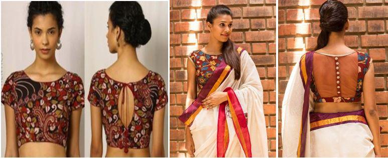 6330885ec4d0c Saree Blouses Buy Designer Readymade Blouses for Women Latest Blouse Designs    Patterns Flipkart Source · Set Saree Blouse Patterns The Blouse