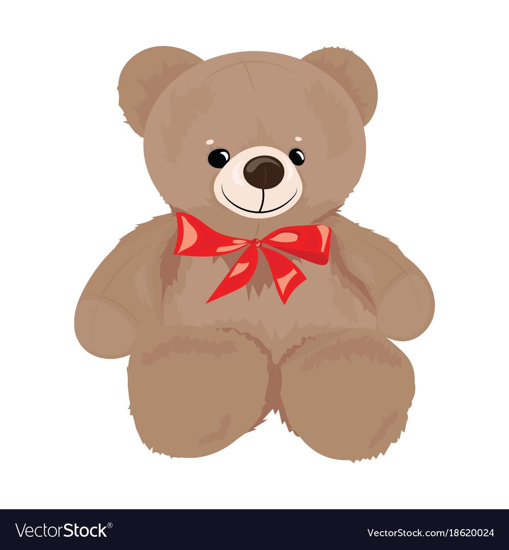 cartoon teddy bear with