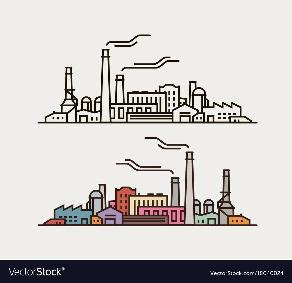 industry concept industrial enterprise