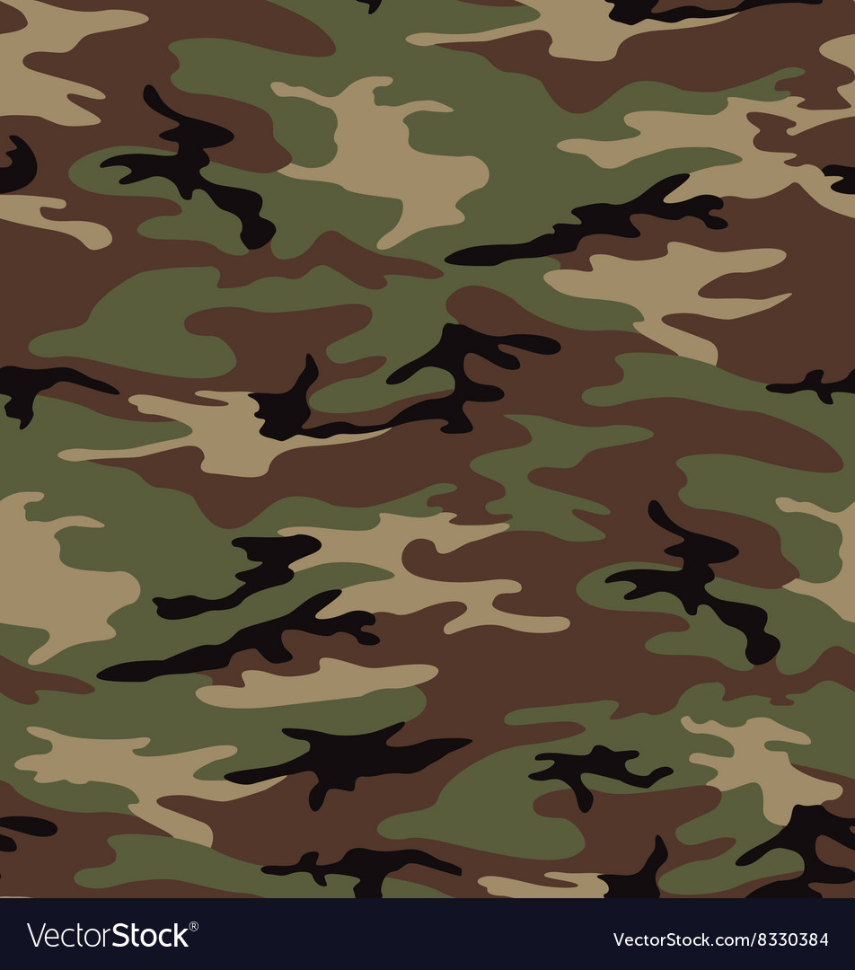 woodland army camouflage seamless