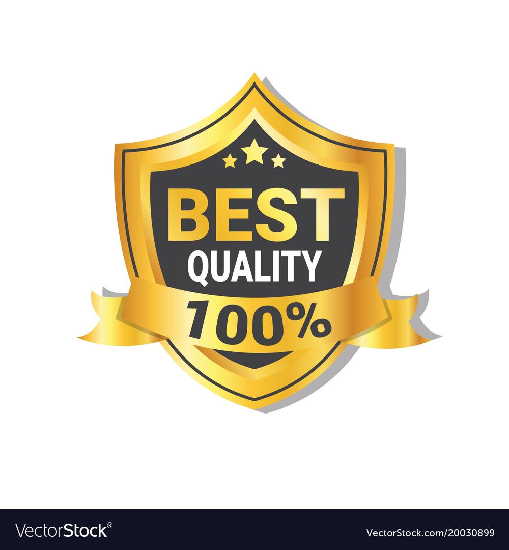 best quality sticker golden