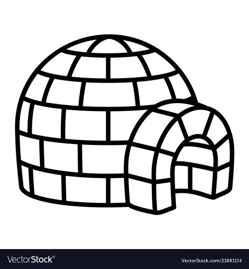 small resolution of clipart igloo