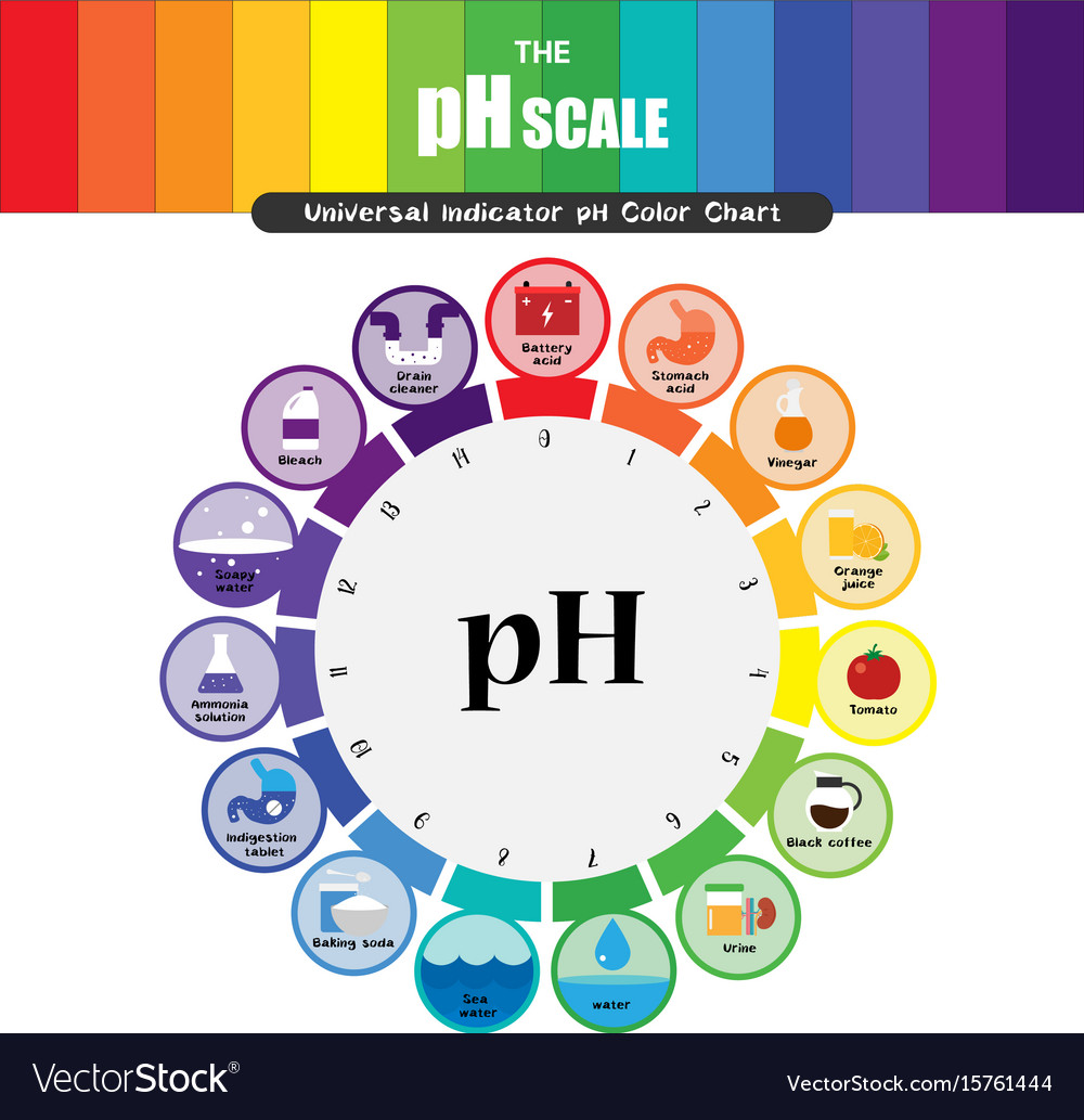 hight resolution of ph scale diagram