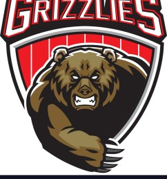 grizzly bear mascot vector image [ 903 x 1080 Pixel ]