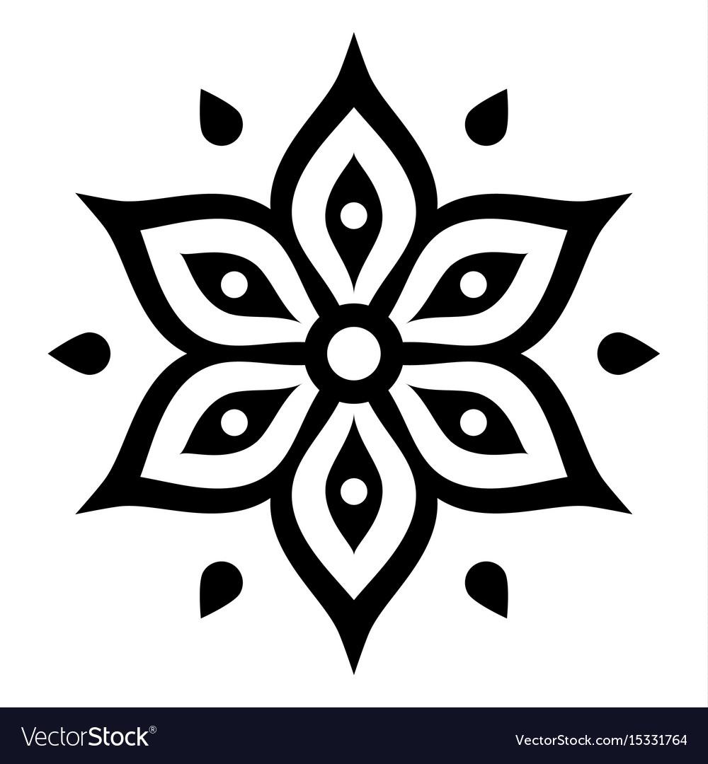 boho flower design inspired