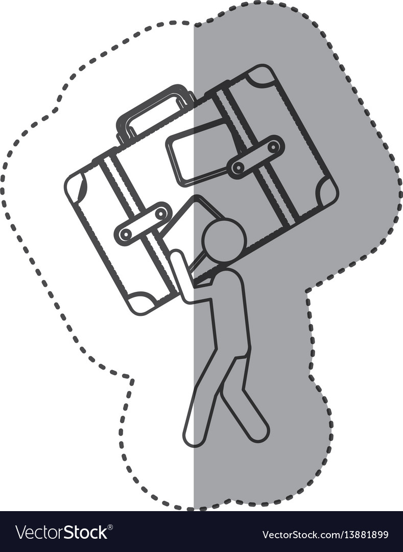 hight resolution of figure person working in diagram