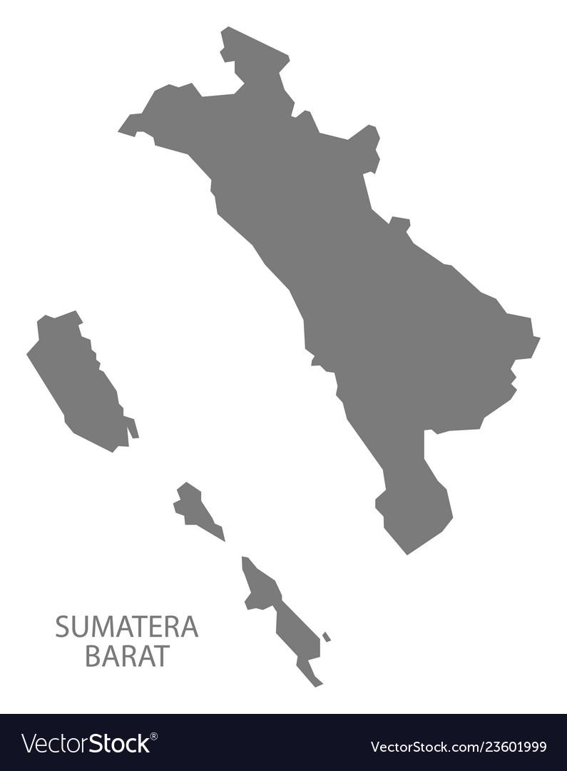 Peta Jawa Vector : vector, Sumatera, Barat, Indonesia, Royalty, Vector, Image
