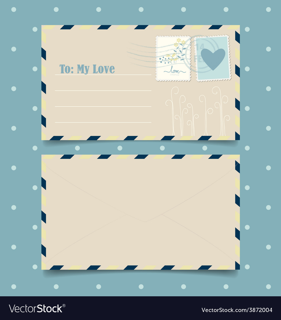 collection of love envelopes