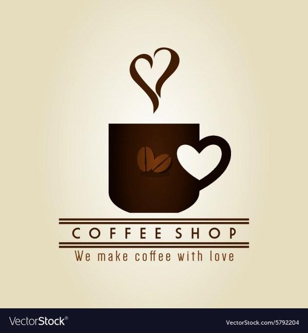 Coffee Logo Royalty Free Vector - Vectorstock