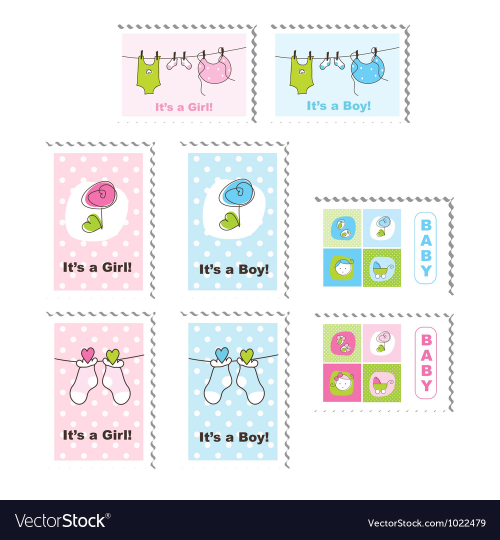 cute baby stamps