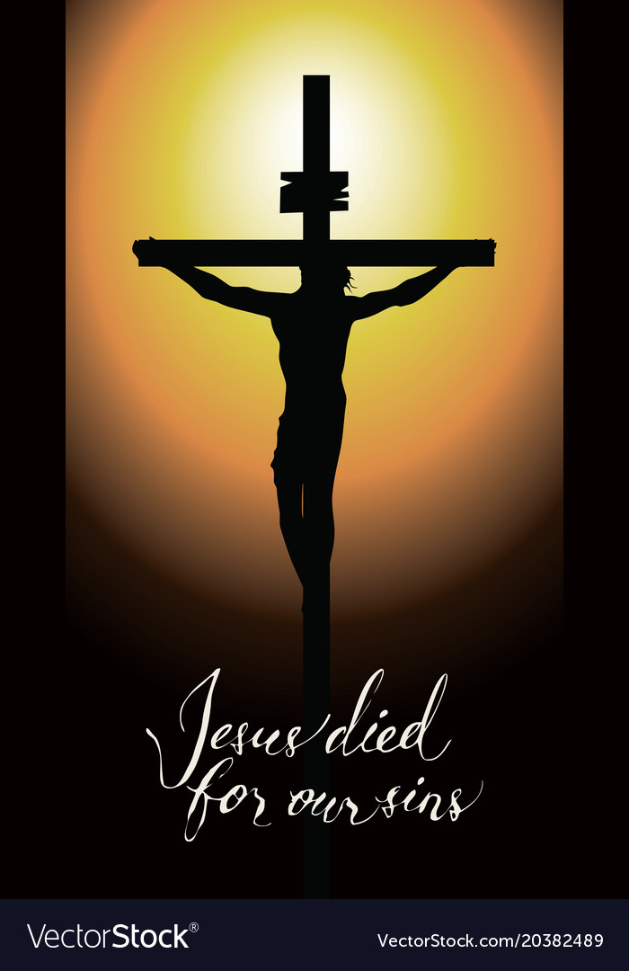 cross with crucified jesus