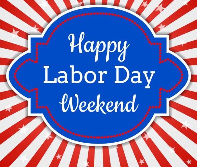 Happy Labor Day Weekend Vector Image