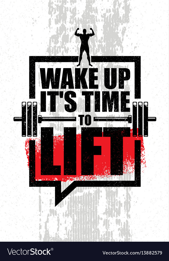 wake up it is