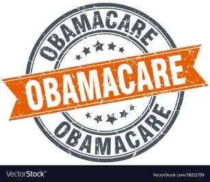 Obamacare Royalty Free Vector Image - VectorStock