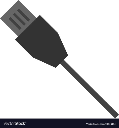 small resolution of internet cable vector image