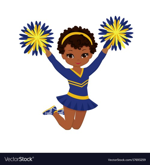 small resolution of cheerleader clipart free